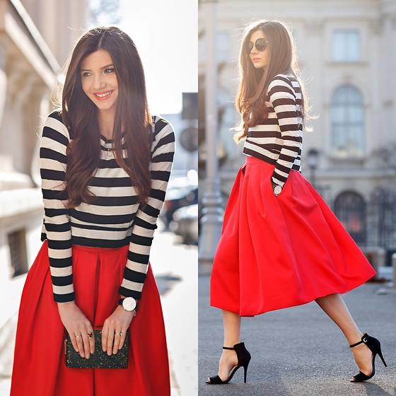 outfits in schwarz weiß