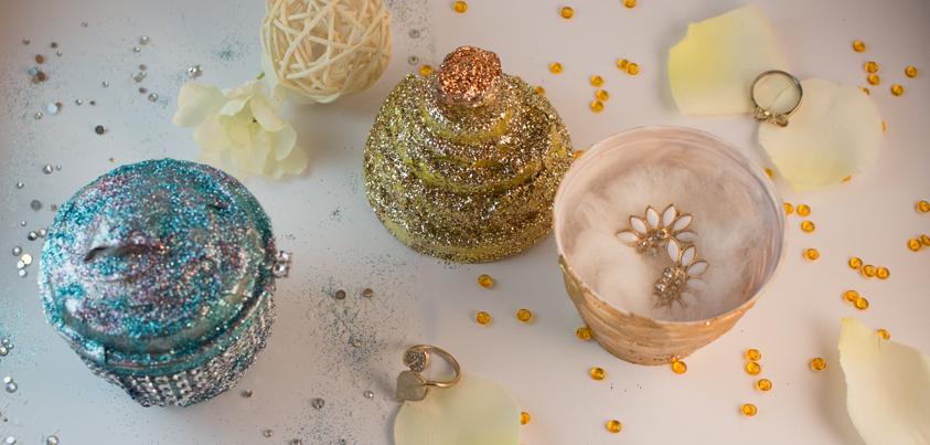 Mein neues DIY Projekt – Cupcakes als Schmuckkästchen