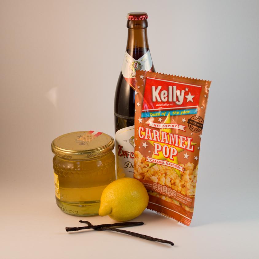Popcorn Karamell Cupcake Zutaten
