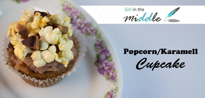 Popcorn Karamell Cupcake