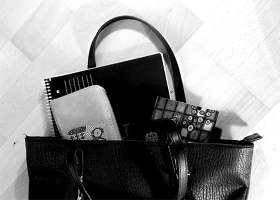 Meine Handtasche und ich! What's in it?