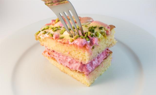 Marshmallow Torte