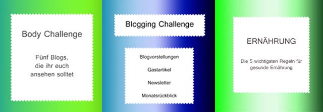 Body & Blogging Challenge