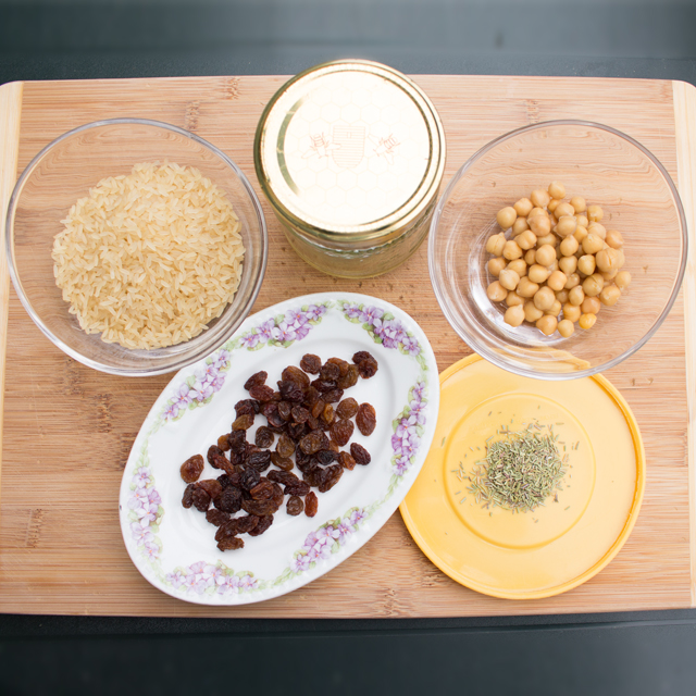 Food Battle - die fünf Zutaten