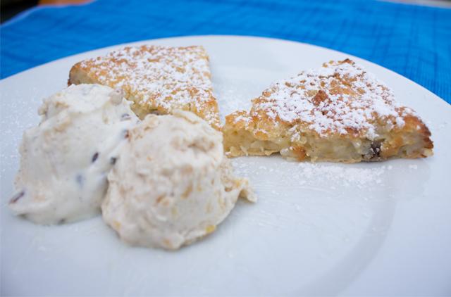 FOOD BATTLE – Reisauflauf mit Kichererbsen-Eis