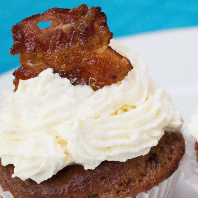 Food Battle –  Schoko-Ingwer-Speck Cupcake