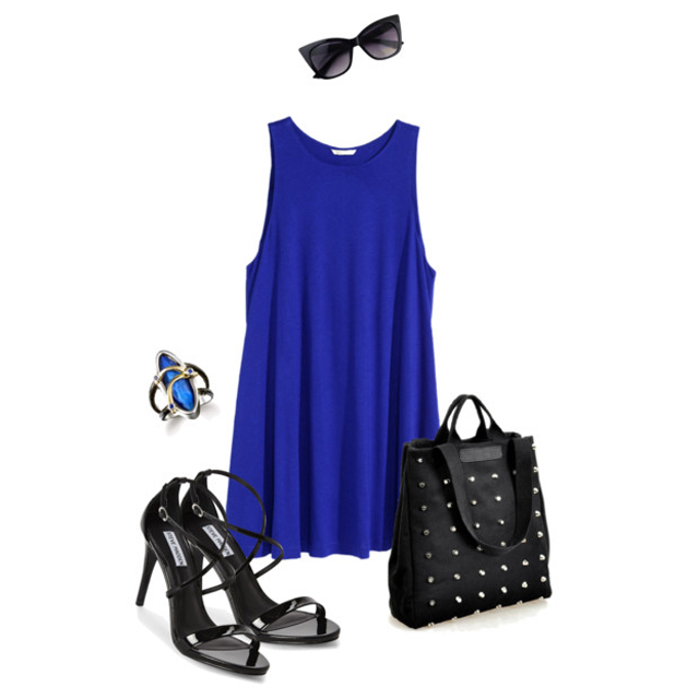Blue Dress III