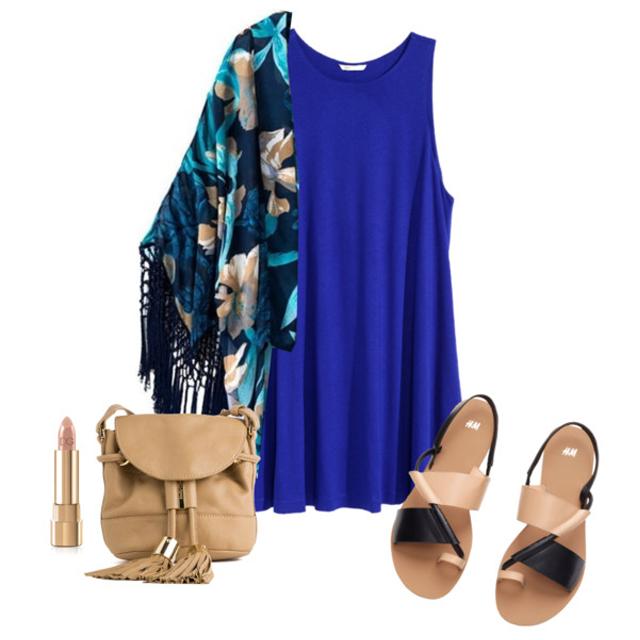 Blue Dress V