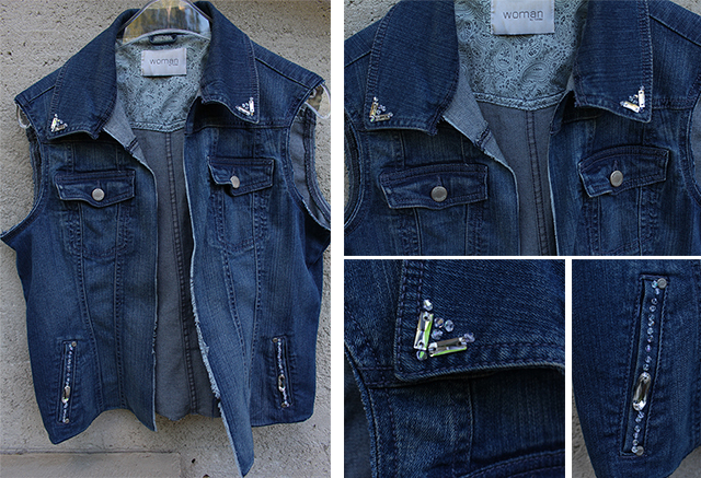 Denim Jacket DIY