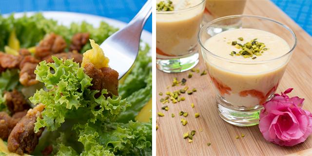 Food Battle – Sommersalat und fruchtiges Dessert im Glas