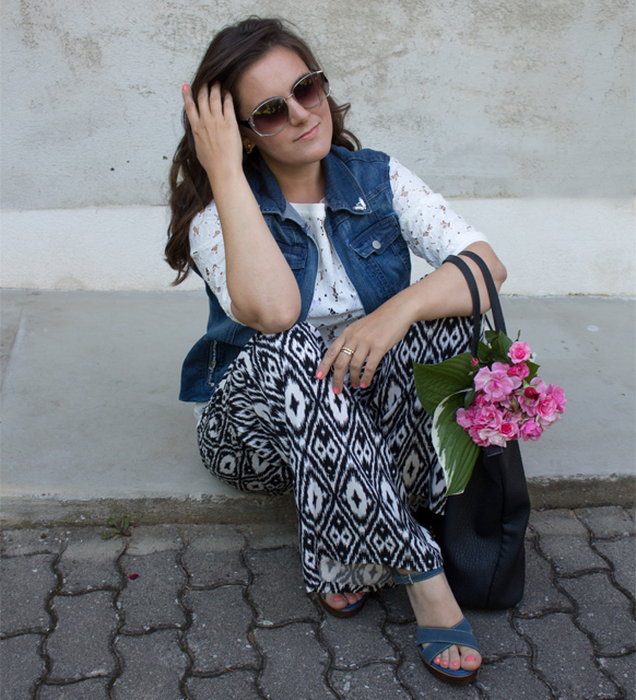 Denim DIY und Outfit Post