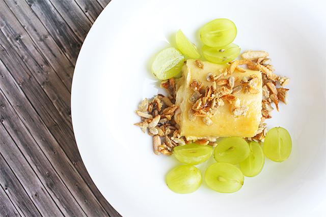 Food Battle trifft Knuspersommer – Blätterteig Roulade mit Trauben