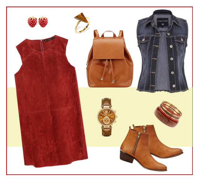 Red Dress Style I