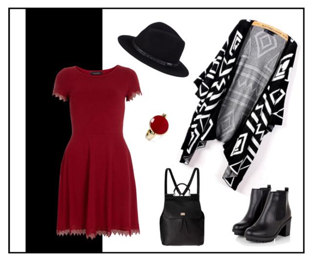 Red Dress Style II