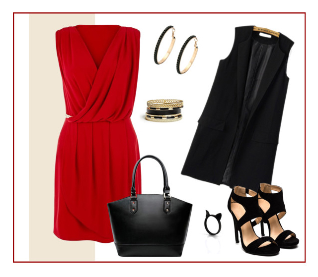 Red Dress Style III