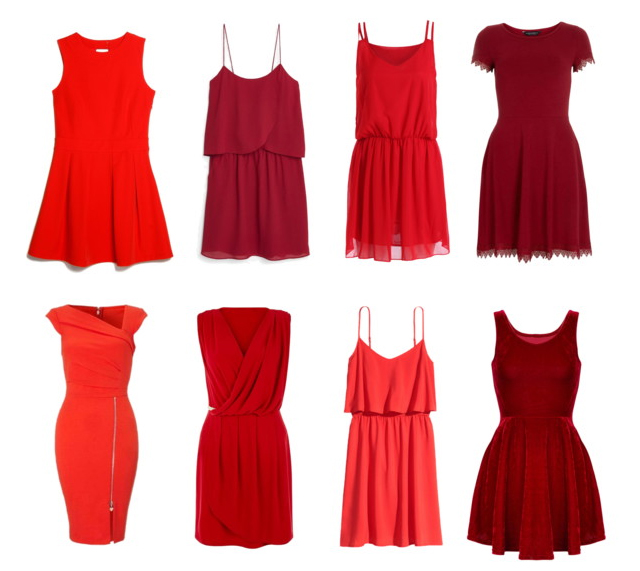 Shades of Red: How to style a red dress