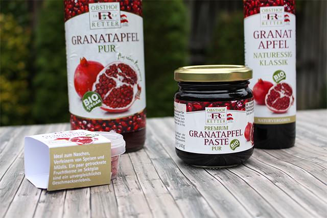 Granatapfelprodukte