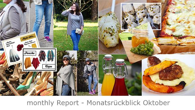 monthly Report – Blogrückblick Oktober