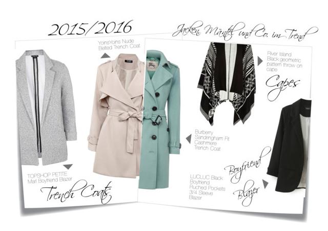 Mantel und Jackentrends
