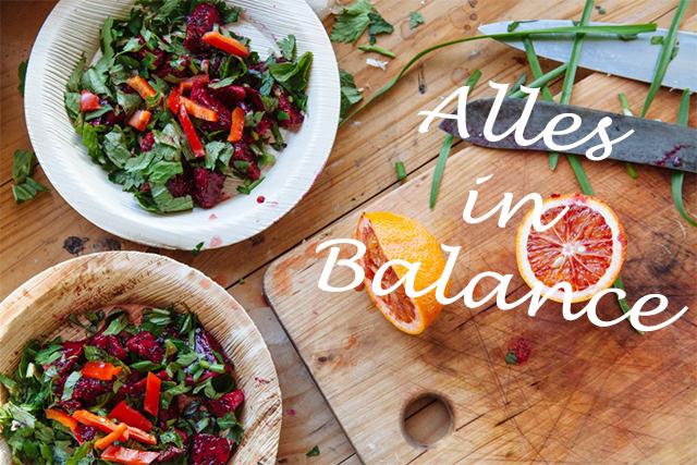 Ernährung: Alles in Balance