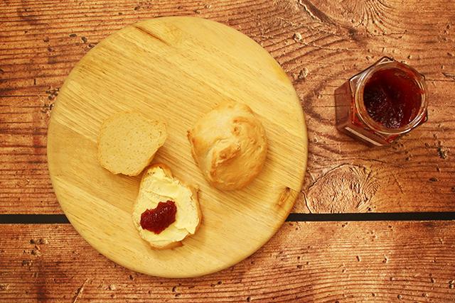 Brötchen aus Buttermilch