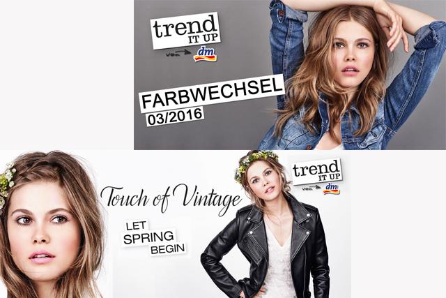 Trend it up von DM – Farbwechsel und Touch of Vintage