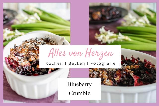 Alles von Herzen Blueberry Crumble