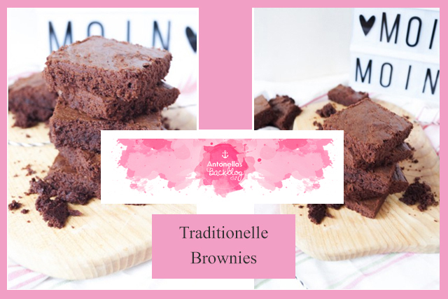 Antonellas Backblog traditionelle Brownies
