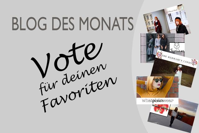 Blog des Monats – Vote für deinen Favoriten: März