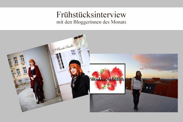Frühstück mit Héloise und Line, den Bloggerinnen des Monats