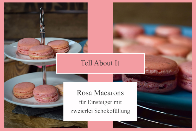 Tell About It Rosa Macarons