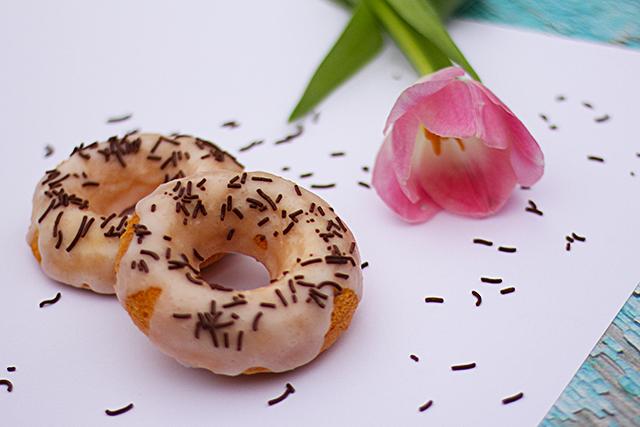 Zuckerglasur Donuts