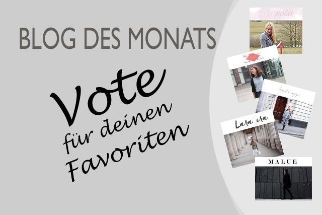 Blog des Monats – Vote für deinen Favoriten: April
