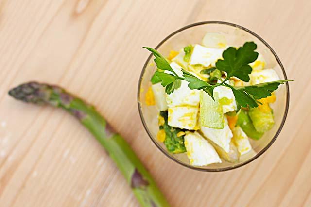 Köstlicher Spargelsalat – kalt oder warm
