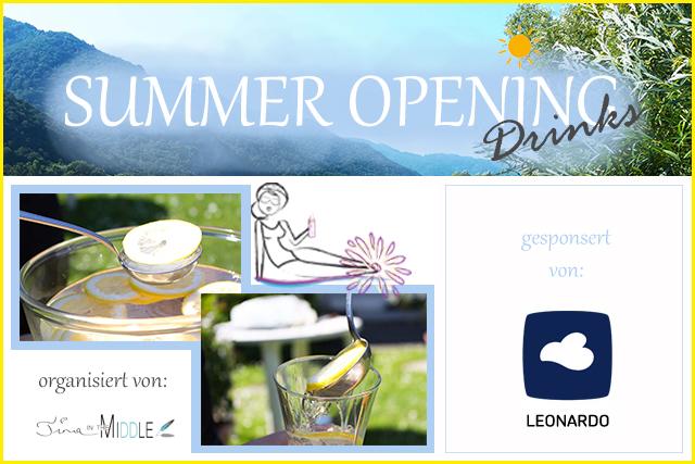 Summer Opening Drinks