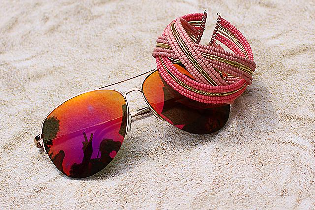 Goodie Bag Sonnenbrille Armreif