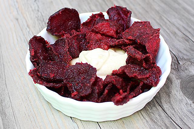 Chips rote Rüben