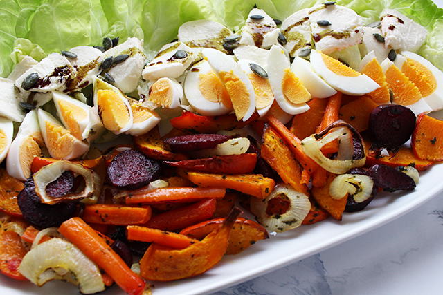Herbst-Ofengemüse