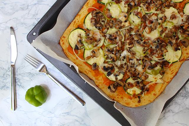 Karfiolteig Pizza