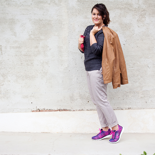 Easy and Chic Skechers Style