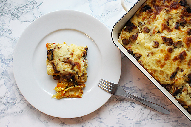Gemüselasagne – Ein Hauch von Bella Italia auf meinem Teller