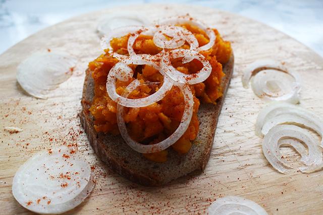 Kürbis-Karottenaufstrich
