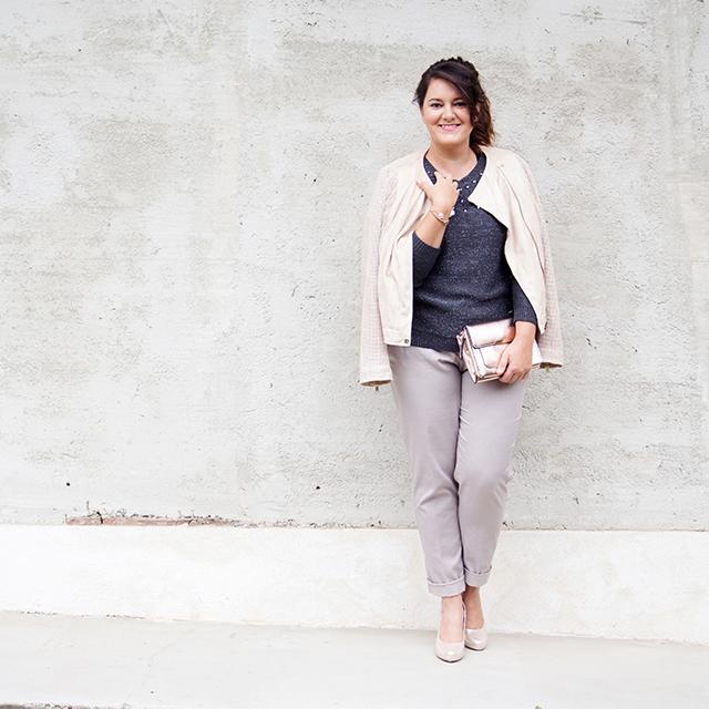 Outfit Pastellfarben