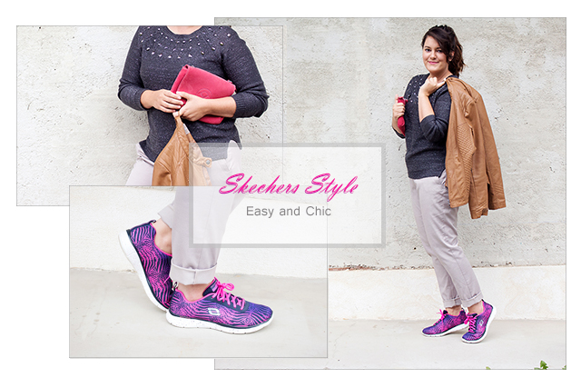 Skechers Style Collage