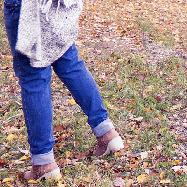 Boyfriend Jeans und Boots