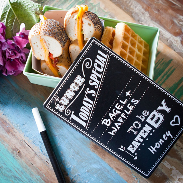 Kreidetafel Lunchbox Radbag