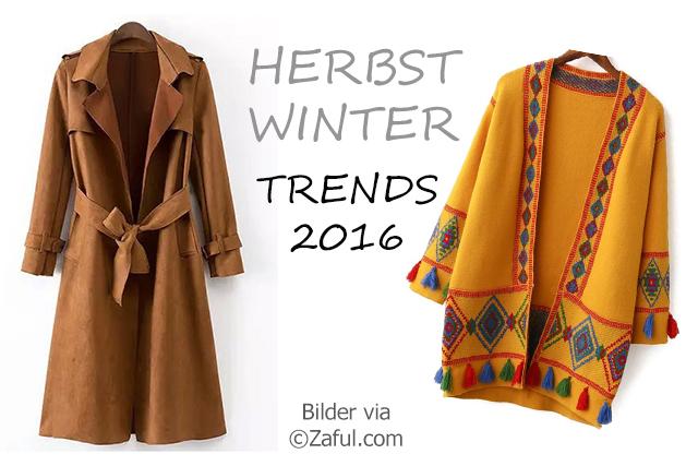 Herbst und Winter Trends 2016