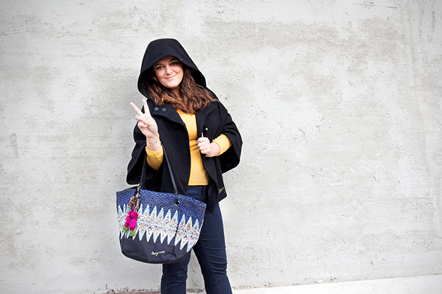 Desigual Herbst Winter Outfit