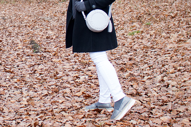 Espadrilles, White Denim, Coat