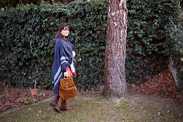 Takko Cape, Dresslily Backpack and Boots
